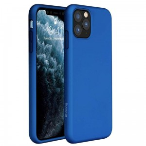 Etui do iPhone 11 Pro Max Crong Color Cover [niebieski]