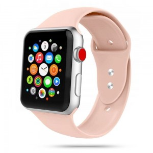 Pasek do Apple Watch 1/2/3/4/5/6 (38/40 mm) Tech-Protect IconBand [piaskowy róż]