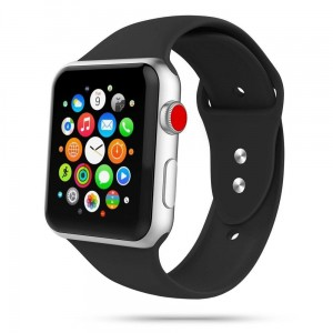 Pasek do Apple Watch 1/2/3/4/5/6 (38/40 mm) Tech-Protect IconBand [czarny]