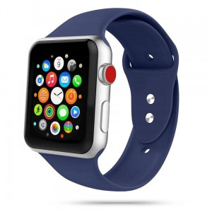 Pasek do Apple Watch 1/2/3/4/5/6/SE (38/40 mm) Tech-Protect IconBand [granatowy]