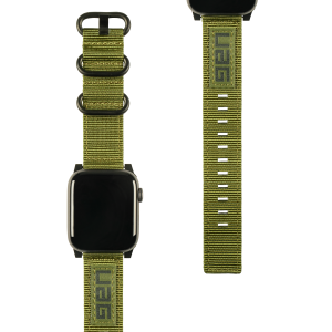 Pasek do Apple Watch 1/2/3/4/5/6/SE (42/44 mm) UAG Nato Strap [zielony]