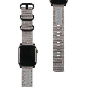 Pasek do Apple Watch 1/2/3/4/5/6/SE (42/44 mm) UAG Nato Strap [szary]