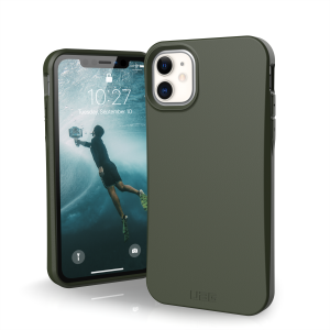 Etui do iPhone 11 UAG Outback Bio [oliwkowy]