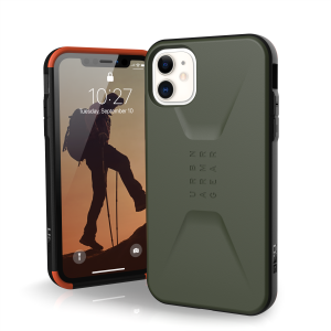 Etui do iPhone 11 UAG Civilian [oliwkowy]