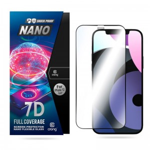 Szkło hybrydowe do iPhone 12 Mini Crong 7D Nano Flexible Glass