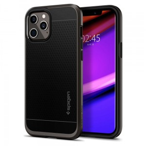 Etui do iPhone 12/12 Pro Spigen Neo Hybrid [gunmetal]