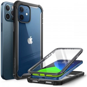 Etui do iPhone 12/12 Pro Supcase Iblsn Ares [czarny]