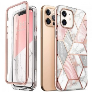 Etui do iPhone 12/12 Pro Supcase Cosmo Marble