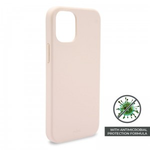 Etui do iPhone 12/12 Pro Puro Icon Anti-Microbial Cover [różowy]