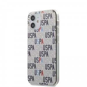 Etui do iPhone 12/12 Pro US Polo Assn Logo Mania [biały]