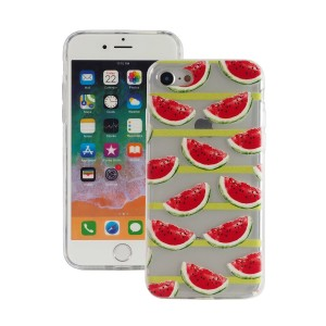 "Fashion Case Print Back [Watermelon], Etui silikonowe na iPhone 7/8 (4.7"")"