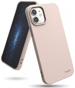 Etui do iPhone 12 Mini Ringke Air S [piaskowy róż]