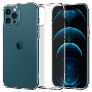 Etui do iPhone 12 Pro Max Spigen Liquid Crystal [bezbarwne]
