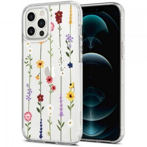 Etui do iPhone 12 Pro Max Spigen Cyrill Cecile [flower garden]