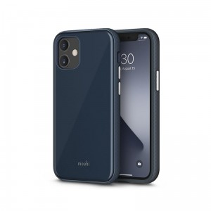 Etui do iPhone 12 Mini Moshi Iglaze [midnight blue]