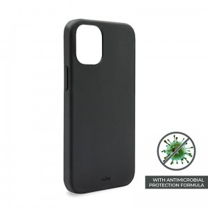Etui do iPhone 12 Mini Puro Icon Anti-Microbial Cover [czarny]