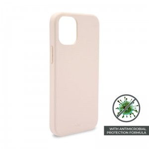 Etui do iPhone 12 Mini Puro Icon Anti-Microbial Cover [różowy]