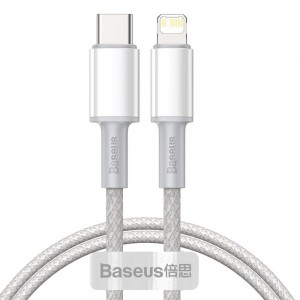 Kabel Baseus Data PD20W Type-C to Lightning 200CM [biały]