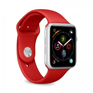 Pasek do Apple Watch 1/2/3/4/5/6/SE(38/40 mm) Puro Icon [czerwony]