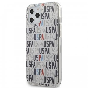 Etui do iPhone 12 Pro Max US Polo Assn Logo Mania [biały]