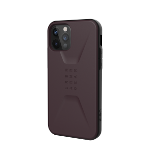 Etui do iPhone 12/12 Pro UAG Civilian Eggplant [fioletowy]