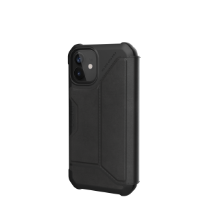 Etui do iPhone 12 Mini UAG Metropolis z klapką [czarny]