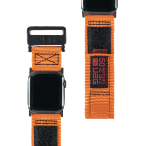 Pasek do Apple Watch 1/2/3/4/5/6/SE (42/44 mm) UAG Active Strap [pomarańczowy]
