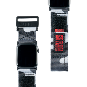 Pasek do Apple Watch 1/2/3/4/5/6/SE (42/44 mm) UAG Active Strap [szare moro]