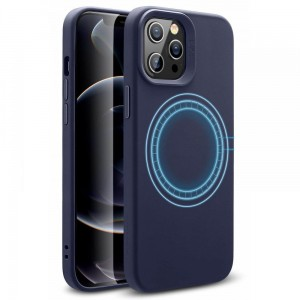 Etui do iPhone 12/12 Pro ESR Cloud HaloLock [granatowy]