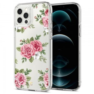 Etui do iPhone 12/12 Pro Spigen Cyrill Cecile [pink floral]
