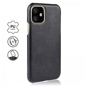 Etui do iPhone 11 Crong Essential Cover [czarny]
