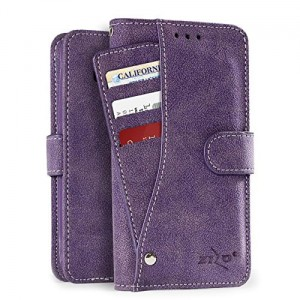 "Etui do iPhone X/XS (5.8"") Zizo SideOut Wallet [fioletowy]"