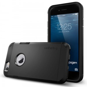"Spigen Tough Armor [czarne], Pancerne etui dla iPhone 6/6S (4.7"")"