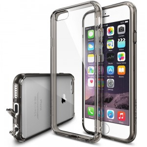"Etui do  iPhone 6/6S (4.7"") Ringke Fusion Case [przydymione],"