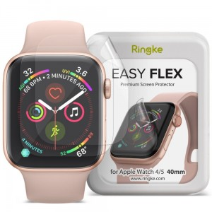 Folia ochronna do Apple Watch 4/5/6/SE (40mm) Ringke Easy Flex