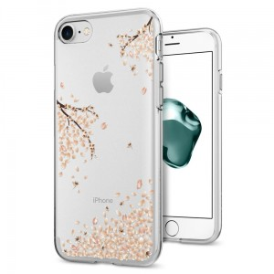 "Etui do iPhone 7/8 (4.7"") Spigen Liquid Crystal. Shine Blossom"