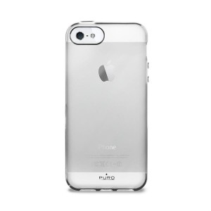 Etui do iPhone SE/5/5S Puro Plasma Cover [półprzezeoczyste]