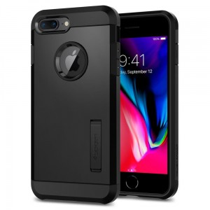 "Spigen Tough Armor 2 [czarne], Pancerne etui dla iPhone 7+/8 Plus (5.5"")"