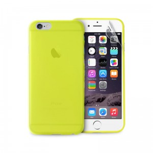 "PURO Ultra Slim ""0.3"" Cover [Green], Cienkie etui + folia dla iPhone 6/6S (4.7"")"