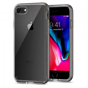 "Etui do iPhone 7/8 (4.7"") Spigen Neo Hybrid Crystal 2 [stalowe]"
