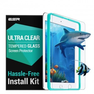 "ESR Ultra Clear Tempered Glass, Szkło na ekran iPada 9.7"" 2017/2018, Air 1/2"