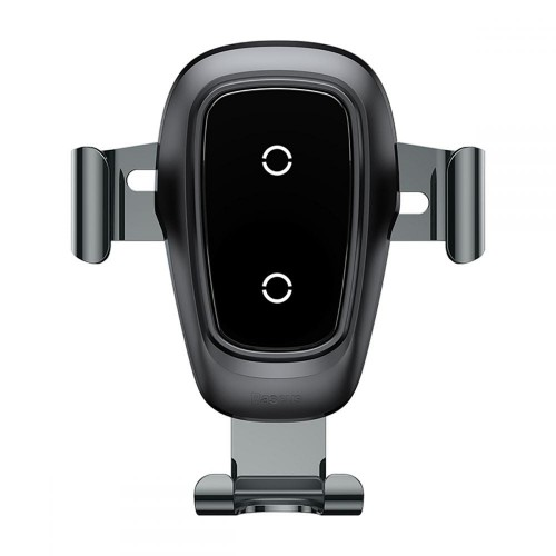 BASEUS GRAVITY VENT CAR MOUNT WIRELESS CHARGER BLACK