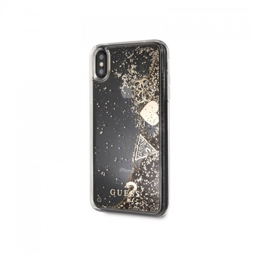 Guess Glitter Harts iPhone 7/8 złoty].