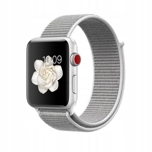 PASEK TECH-PROTECT NYLON APPLE WATCH 1-2-3-4 (42-44MM) SILVER 1.jpg