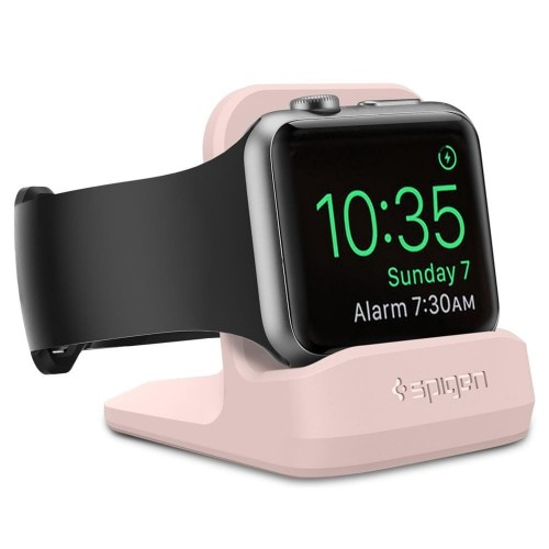 SPIGEN S350 NIGHT STAND APPLE WATCH 1-2-3-4 PINK SAND 1.jpg