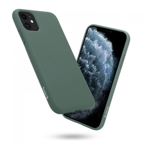 Etui do iPhone 11 Crong Color Case [zielony]