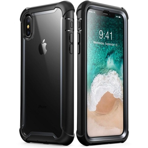"Etui do iPhone X/XS (5.8"") Supcase IBLSN Ares [czarne]"