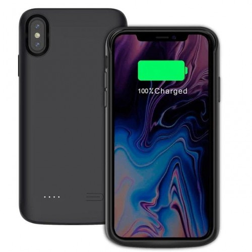Etui z baterią do iPhone X/XS Tech-Protect Battery Pack 4100mAh czarne