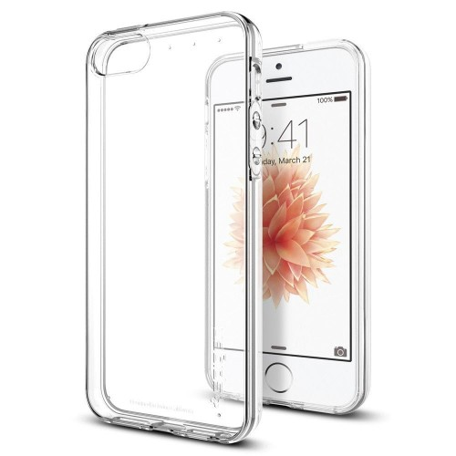 SPIGEN LIQUID AIR IPHONE 5S-SE CRYSTAL CLEAR 1.jpg