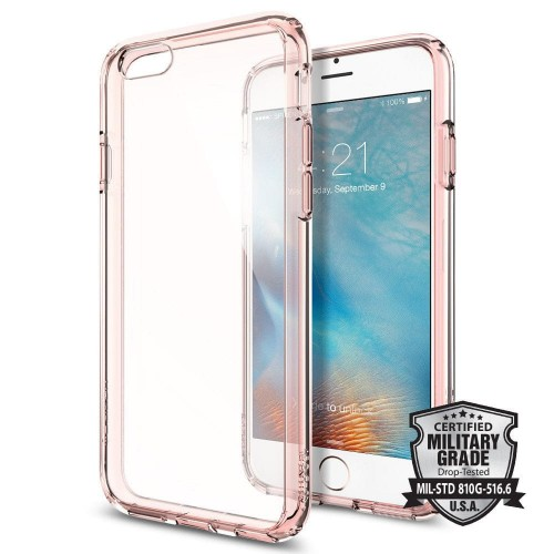 SPIGEN ULTRA HYBRID IPHONE 6-6S (4.7) ROSE CRYSTAL 1.jpg